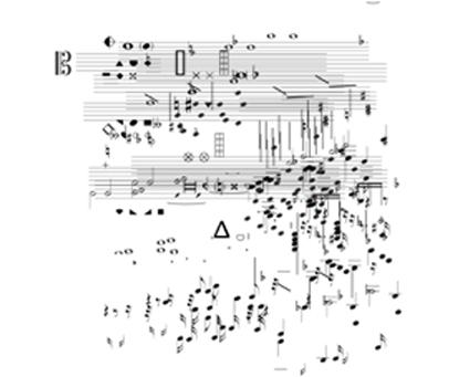 Michael Renkel, Nomos Alto, rehearsal score page